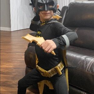 Batman custom outfit with nice cape names added to